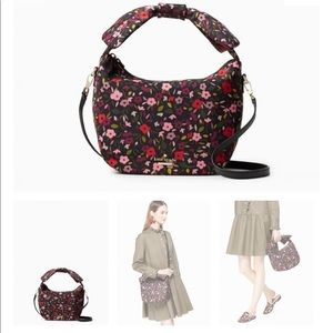 Kate Spade women's satchel boho floral bag